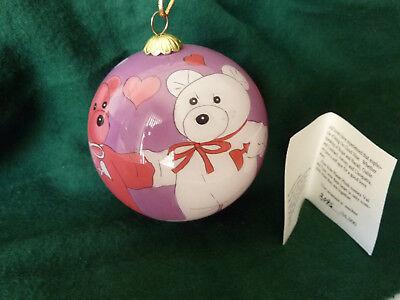 CHRISTMAS SALE RARE MARY BETHS BEANIE WORLD COLLECTOR CHRISTMAS ORNAMENT  - Christmas Ornament Sale
