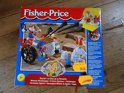 FISHER-PRICE / CHARIOT - LE CHAR DE LA PYRAMIDE