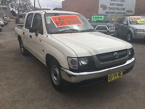 2004 Toyota Hilux Dual Cab Ute LOW KLMS May/17 rego Clyde Parramatta Area Preview