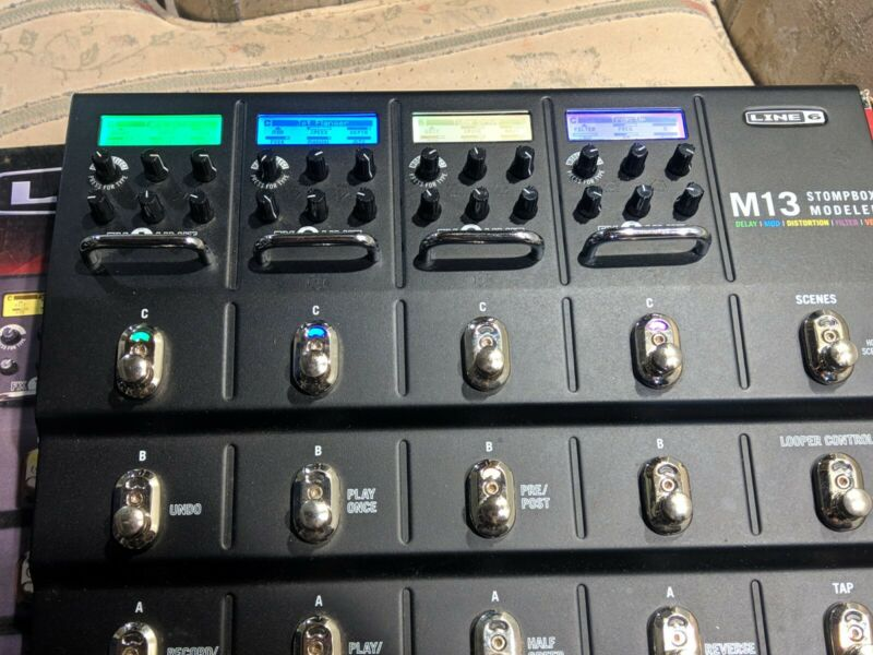 Line 6 M13 Multi-Effects Guitar Effect Pedal