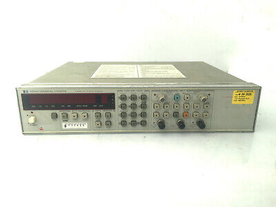Hp 5334a 100mhz Universal Counter W Current Keysight Calibration