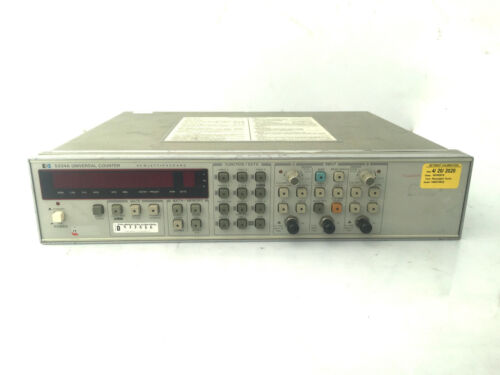 HP 5334A 100MHz Universal Counter W/ Current Keysight Calibration