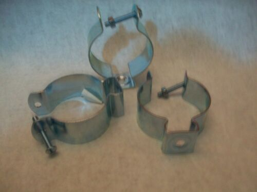 """(3) MINERALLAC  #5 CONDUIT HANGER W/NUT & BOLT FOR 2"""" EMT -NEW-Ships FREE"""