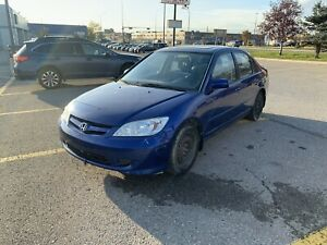 2005 Honda Civic EX Sedan - Clean title & One owner!