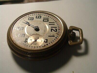 Antique Model 1883 Waltham Pocket Watch 18s 15j Grade: No. 820