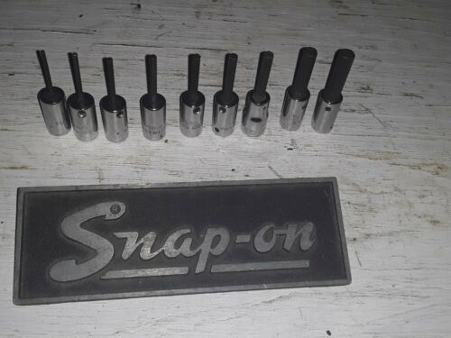 Snap On Allen Socket Drivers Set 1/4