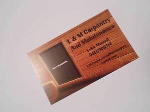 L & M Carpentry and Maintenance Kelmscott Armadale Area Preview
