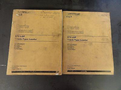 Caterpillar Cat 973 Lgp Track Type Loader Parts Manual 86g1-2999  Sebp1387-08