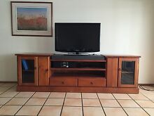 Timber TV unit - large Noosaville Noosa Area Preview
