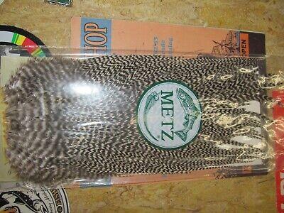 Metz Sattel Grizzle Grad 2 Dry Fly Hechel Federn