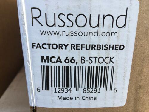 Russound MCA-66 6 source 6 multi zone controller amplifier