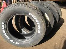 235/245 60R 14 inch tyres, suitable for a trailer, etc. North Arm Noosa Area Preview