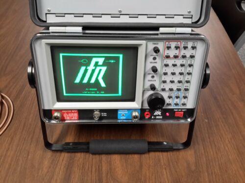 IFR A-8000 Spectrum Analyzer, with Tracking Gen., Receiver, RS-232, Quasi-peak