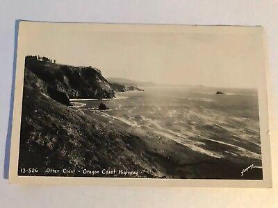 Vintage Postcard-Otter Crest-Oregon Coast Highway 1950's