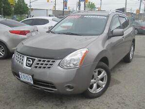 2009 NISSAN ROGUE SL | AWD • Leather • Sunroof  • BOSE Audio