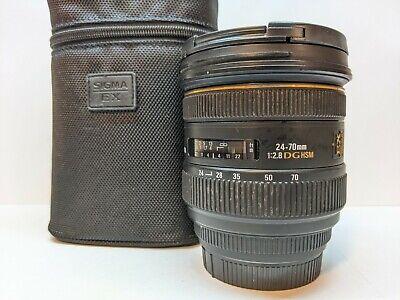 Sigma 24-70mm f/2.8 DG HSM EX Zoom Lens with Canon Mount segunda mano  Embacar hacia Argentina