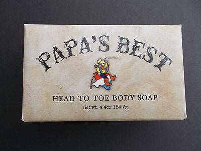 Papa's Best Antifungal Tea Tree Oil Soap For Athlete Foot Jock Itch Acne 10