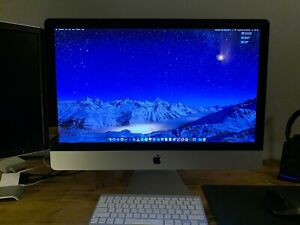 "27"" iMac, 3.4GHz i7, 16GB Ram, 2TB HD"