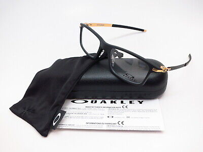 New Authentic Oakley Pitchman OX8050-1453 Satin Black Eyeglasses 53mm