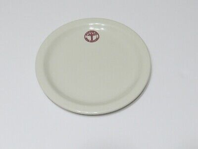 """Vintage 1943 WWII US Army Medical Dept Plate by Taylor Smith Taylor 2433 6 1/2"""""""