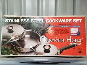 Stainless steel cookware set MADE IN USA Beeliar Cockburn Area Preview