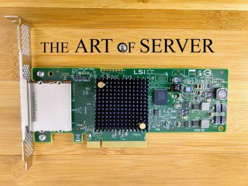 Genuine LSI 9207-8e SAS HBA 6Gbps PCI-E 3.0 P20 IT mode for ZFS FreeNAS unRAID