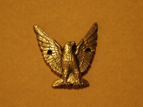RARE~COLLECTIBLE~BALD EAGLE BIRD-EMBLEM BADGE~ONE OF A KIND-CAST METAL~ART~#328