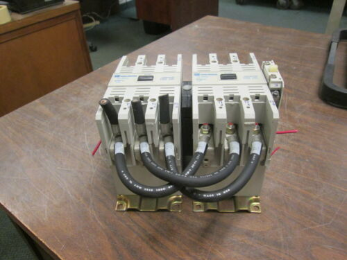 Cutler-hammer Reversing Contactor Ce15mn3 120v Coil 105a 600v W/(2) Aux Contacts