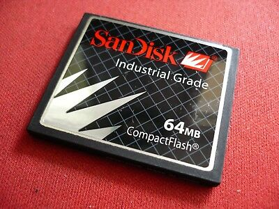 Industrial Grade Compactflash Card (SanDisk 64MB CompactFlash CF Card SDCFBI-64-201 Industrial Grade FOR FANUC)