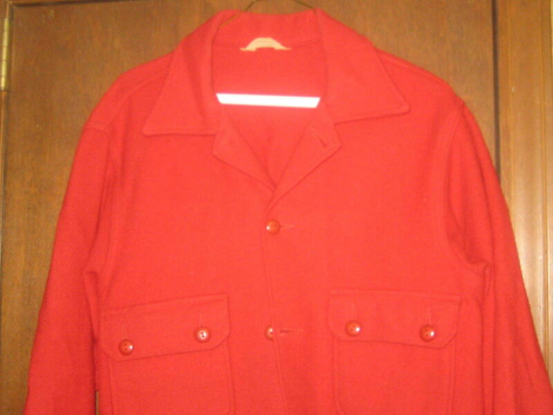 BSA Red Wool Jacket, size 40  A59