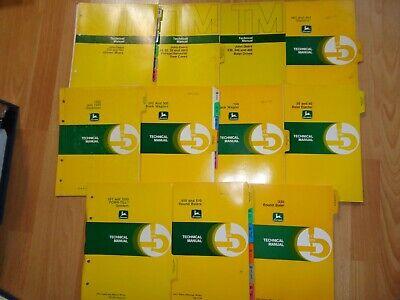 11 John Deere Technical Repair Manuals 410 510 330 Balers More Oem