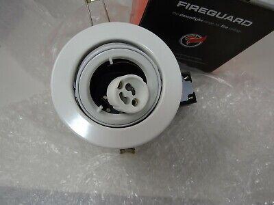 JCC Fire Rated Twist /& Lock Tiltable Mains GU10 Recessed Downlights IP20
