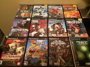 Ps2 games / PlayStation 2 games