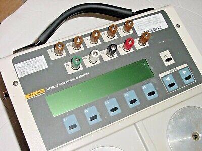 Fluke Biomedical Impulse 4000 Defib Pacer Analyzer With Power Supply