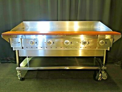 60 Commercial Electric Flat Top Griddlegrill Keating 208240v 3ph