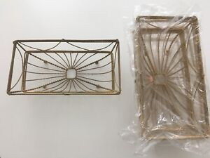 Decorative vintage style wire baskets x 4 - new Belconnen Belconnen Area Preview