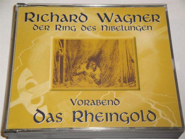 Richard Wagner - Oer Ring Des Nibelungen - Vorabeno Oas Rheingold CD Album