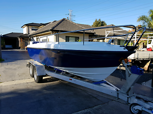 CUSTOM BUILT 6mtr offshore fishing boat Tullamarine Hume Area Preview