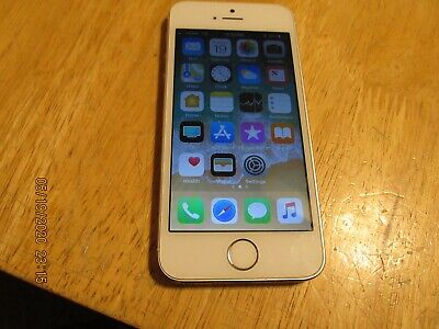Apple iPhone 5s - 16GB - Silver (Unlocked) A1533 CDMA+GSM