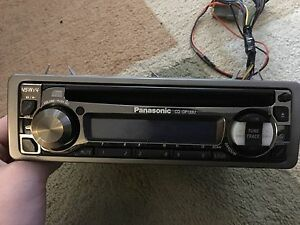 Panasonic CD Player for car