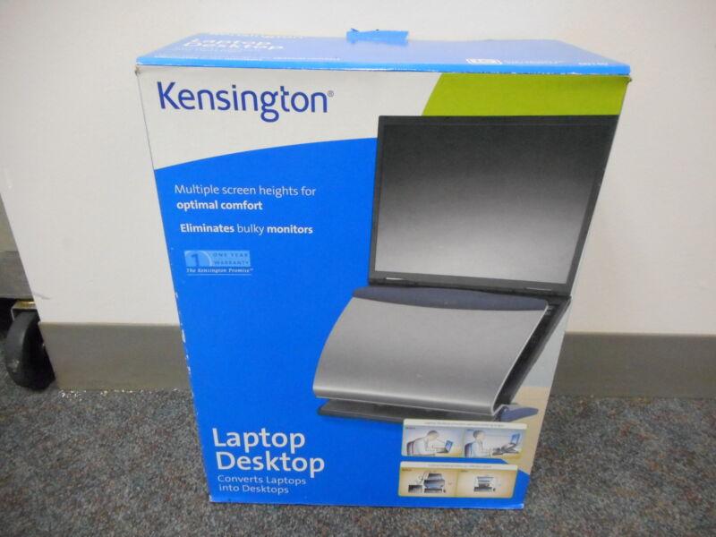 Kensington 60140 Ergonomic Adjustable Desktop Laptop Holder W/tilt Copyholder