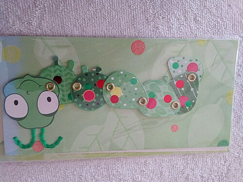 """HALLMARK Greeting Card Caterpillar """"Have a Wiggly, Giggly Day""""   +"""