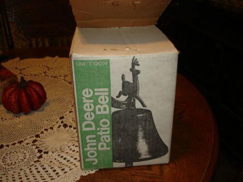 VINTAGE JOHN DEERE PATIO BELL TY2094 Rare NOS