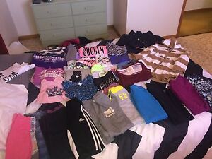 Girls size 7-8 BUNDLE OF BRAND NAME CLOTHES