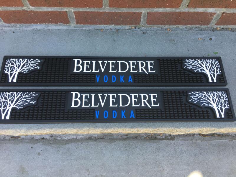 Belvedere Polish Vodka. Bar Rails  Commercial Grade Rubber  New 2 Foot Long Each