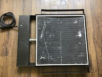 Vastex P180-18 Screen Printing Press Ink Drying Heater Tested Works