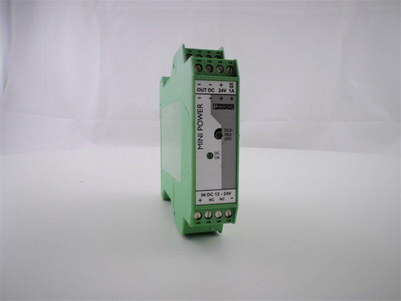 Phoenix Contact Power Supply MINI-PS-12-24DC/24DC/1