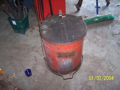 Automotive oily rag storage can Automotive Tool Storage Cabinet