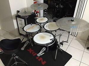 PURECUSSION Rims Drum Kit Rare collector item Good condition Sunnybank Hills Brisbane South West Preview