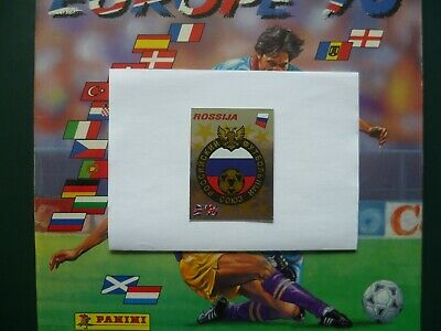 Panini Europa Europe 96 Football stickers EC cards badge Rossija Russia no. 255